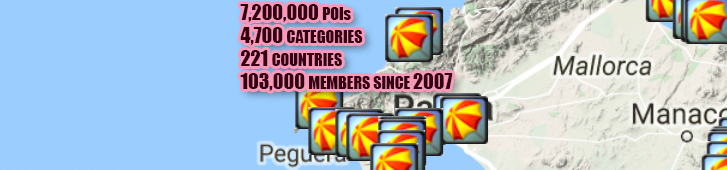 Poiplaza Free Points Of Interests Poi For Igo Garmin Sygic